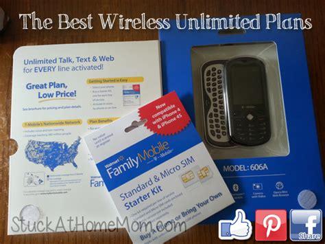 cheap wireless plan walmart family mobile