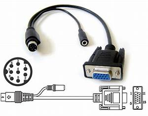 Mini Din 8 Output Adapter