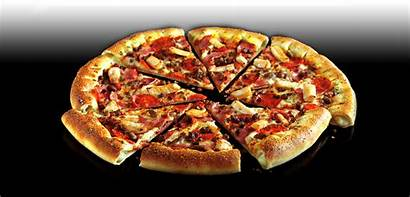 Feast Meat Pizza Pepperoni Ham Beef Chicken