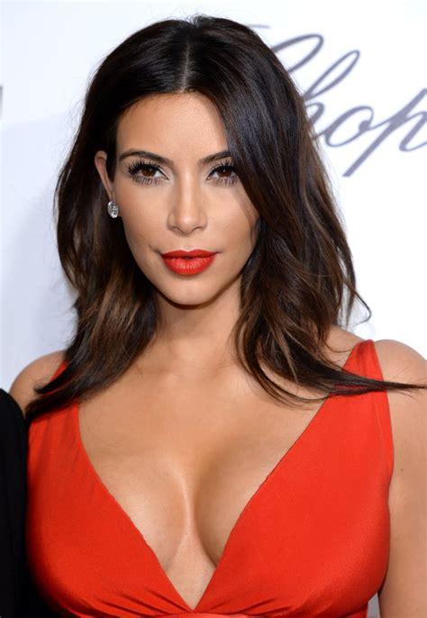Kim Kardashian's Cherry Red Lip in 2014 | Kim Kardashian's ...