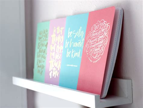 handlettering hibrid for may designs notebook collection hibrid