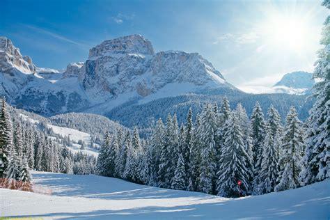 Snow Mountain Landscape | BestWallSite.com