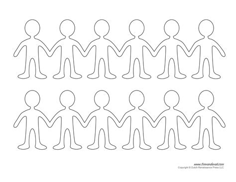 printable paper doll templates    paper dolls