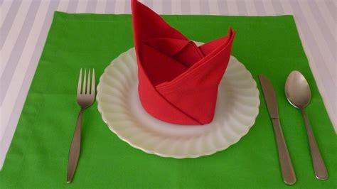 australia small folding table napkin folding the crown doovi