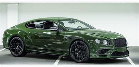 bentley racing green bentley continental supersport in british racing green