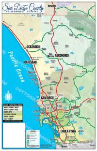 Oceanside Zip Code Map California