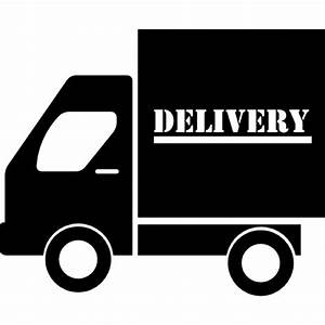 Delivery truck side view Icons | Free Download