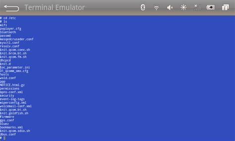 android terminal emulator commands apps hyper