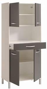 Schrank Für Die Küche : k chenschrank opika 4 80x185x43 cm wei grau schrank highboard k che wohnbereiche k che ~ Bigdaddyawards.com Haus und Dekorationen
