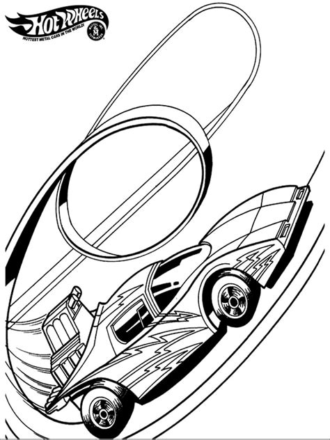 Kleurplaat Hotwheel by Wheels Coloring Pages And Print Wheels