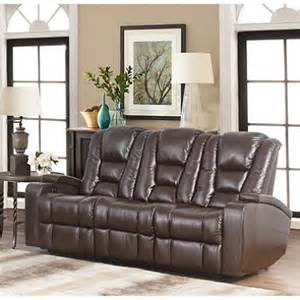 mastro leather power reclining home theater seating sofa