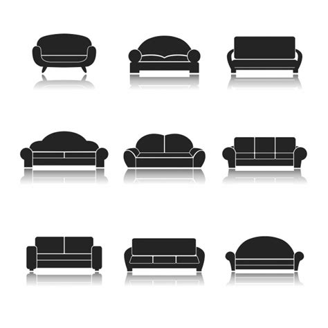 sofa vectors   psd files