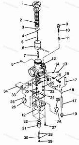 Polaris Snowmobile 1994 Oem Parts Diagram For Carburetor