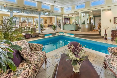 Living Room In Pool by Strange Listings Medford Home Features Living Room Pool