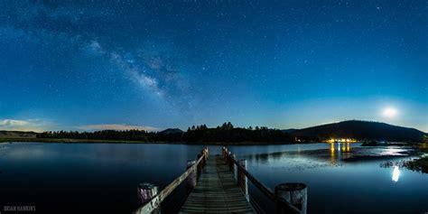 space dock  beautifully clear night  lake cuyamaca