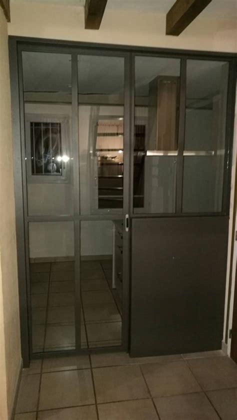porte d atelier coulissante porte coulissante en galandage style verri 232 re d atelier