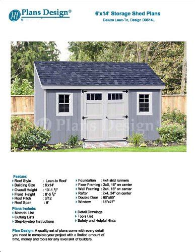 8x16 Shed Material List by 8x16 Shed Design 2car Carport With Storage Plans