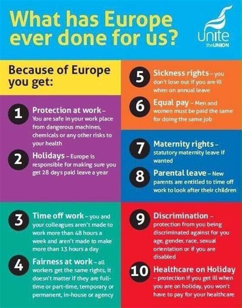 list of reasons for leaving a job trade union meme on eu benefits for british workers