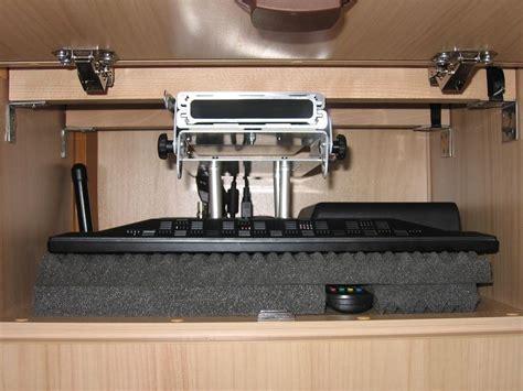 einbau eines flach tv sportboot wohnmobil freizeits