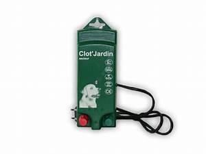 Cloture Chien Jardin : electrificateur de cloture electrique pour chien et animaux domestiques sur cloturelec ~ Melissatoandfro.com Idées de Décoration