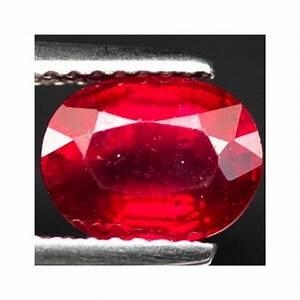 2.17 ct Genuine red Ruby loose gemstone from Madagascar ...