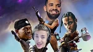 Rapper Drake Helps Fortnite Streamer Break Concurrent ...