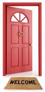 open door welcome clipart - Clipground