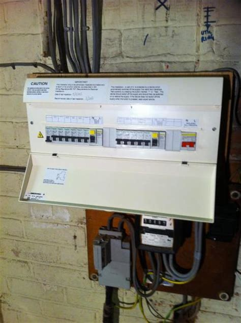 project image gallery consumer unit change lne services