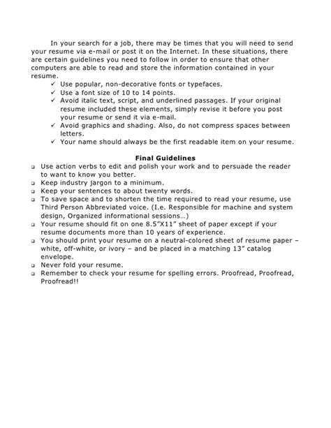 Writing Resume Your by Writing Your Resume And Cover Letter