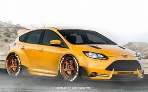 Ford Focus St Bodykit : ford focus st widebody modded photoshop render personal ~ Kayakingforconservation.com Haus und Dekorationen