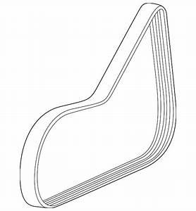 Genuine Gm Serpentine Belt 55578115