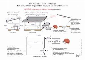 Plan Cabane En Bois Pdf : plan d une cabane en bois pour herisson ~ Melissatoandfro.com Idées de Décoration