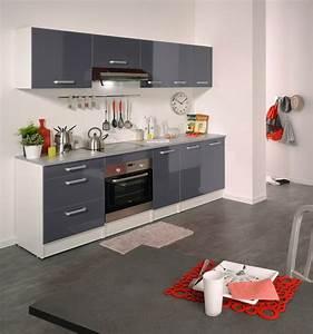 cuisine grise laque meuble de cuisine gris pas cher with With cuisine equipee grise laquee