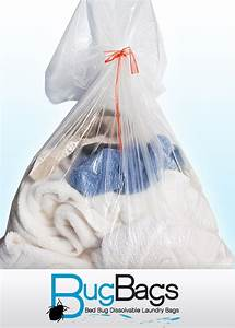 Bed bug bags dissolvable laundry bags 19quot x 22quot for Bed bug bags