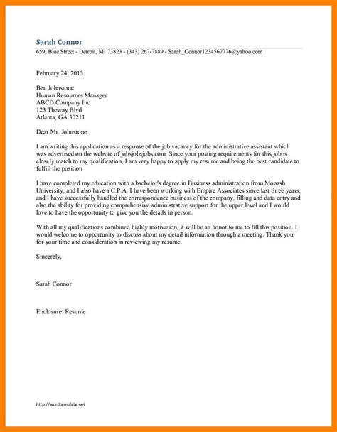 4 exles of application letter for a emt resume
