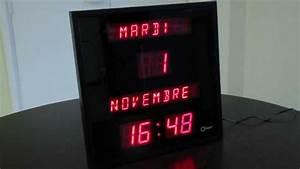 Horloge Calendrier Digitale - Faciliter La Lecture De L U0026 39 Heure Pour Malvoyants