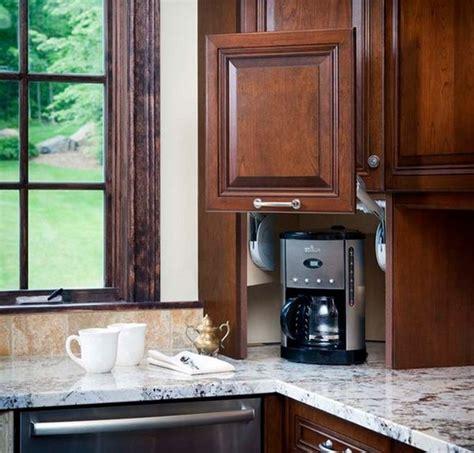 corner kitchen cabinet appliance garage design ideas and practical uses for corner kitchen cabinets