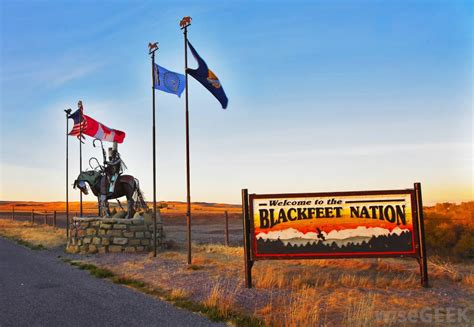 United States Bureau Of Indian Affairs - who are the blackfeet indians with pictures