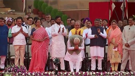 Modi New Cabinet Ministers by Modi 2 0 Congress Congratulates Newly Sworn In Ministers