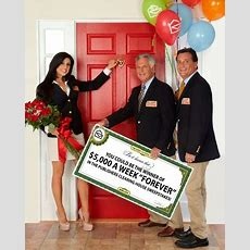 Publishers Clearing House Announces Unprecedented $5,000 A Week 'forever' Sweepstakes
