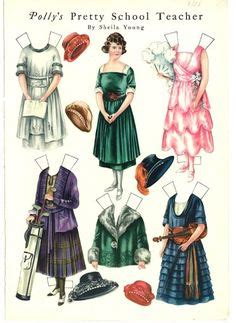 examples  paper doll artists paper doll board