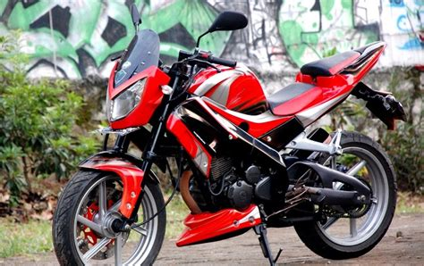Modif Scorpio Fighter by Modif Streetfighter Yamaha Scorpio R6 Auto Modif Ikasi