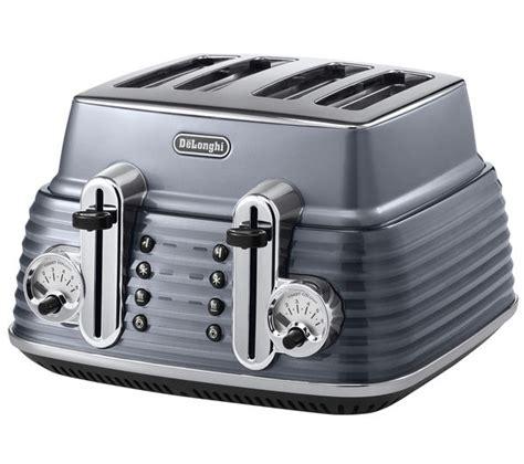 delonghi 4 slice toaster buy delonghi scultura ctz4003gy 4 slice toaster gun