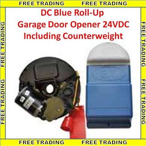 blue garage door opener other security surveillance et dc blue roll up