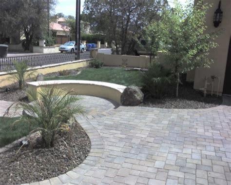 concrete pavers elm landscaping design