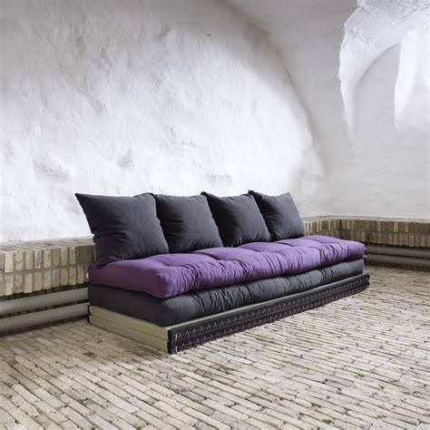 matela canapé canapé design tatami caroki avec futon matelas