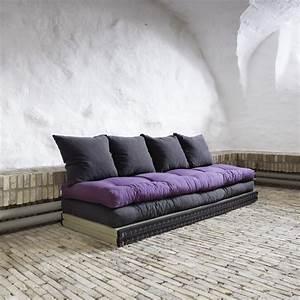 Canape design tatami caroki avec futon matelas for Tapis exterieur avec matelas canapé futon