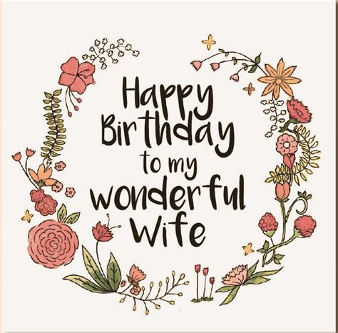 happy birthday wife wishes quotes messages birthday