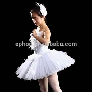 Fancy Ballet Tutu Dress/white Swan Lake Performance ...