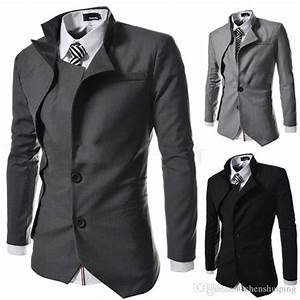 2018 New Fashion British Style Slim Fit Suits Brand Design ...